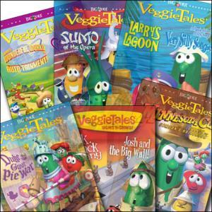 (��Ʈ Ư��)��������Veggie Tales 1~6�� DVD ��Ʈ(6��)_���� & ��ǰ�н� �ִϸ��̼�