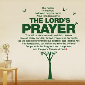 [말씀스티커]The Lord's Prayer-I
