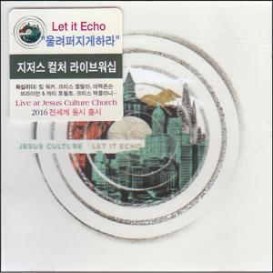 2016 Jesus Culture - Let it Echo (CD)